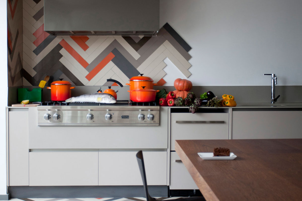 Kitchen with Quartz
