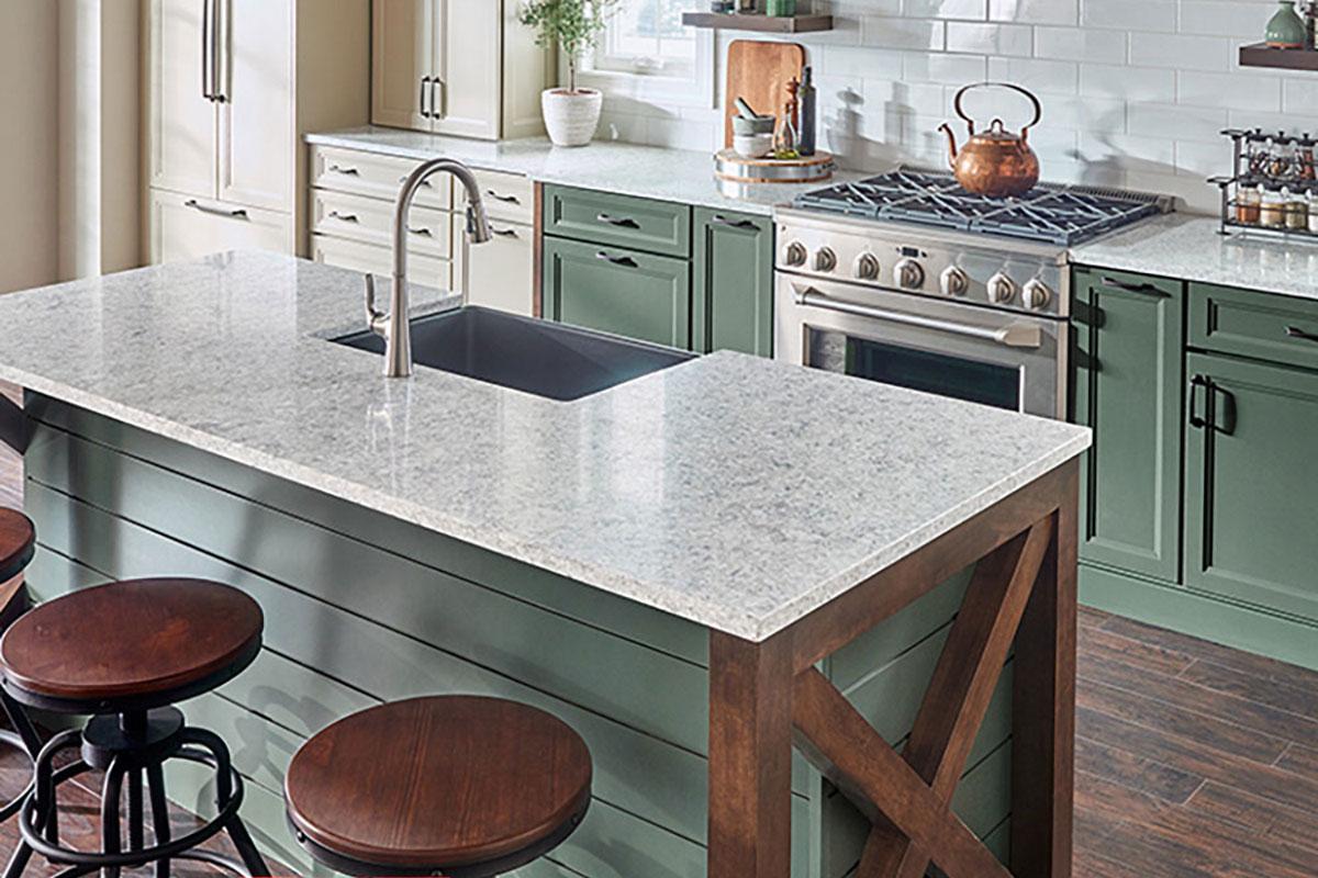 LG Viaterra Quartz Kitchen