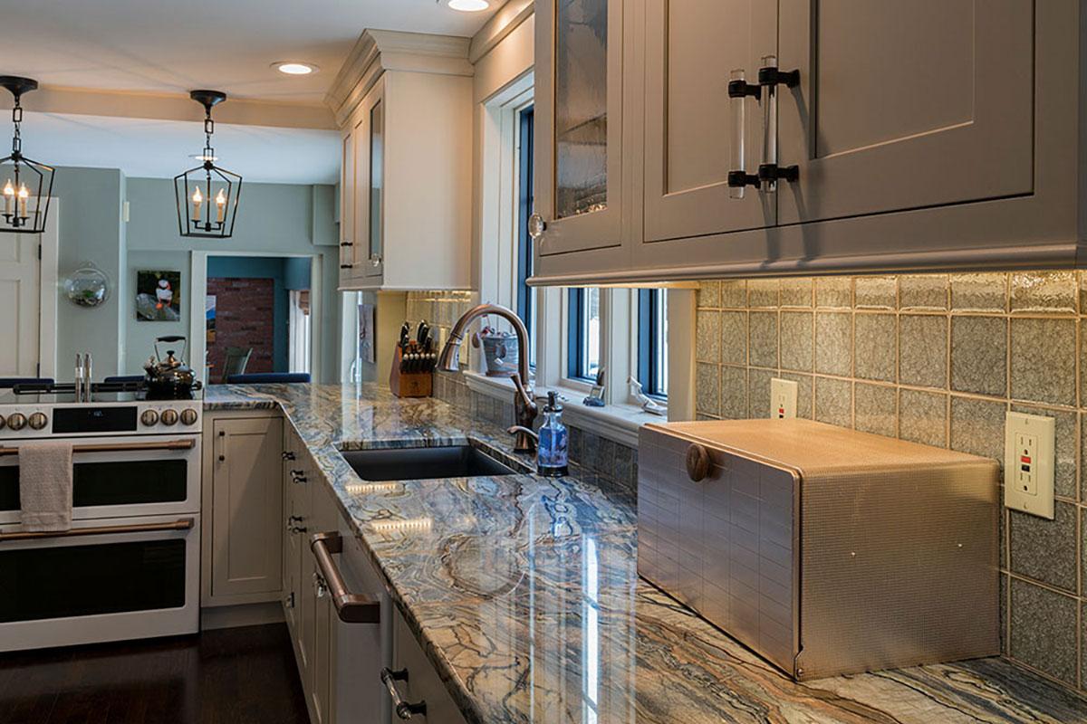 Quartzite Kitchen Counter