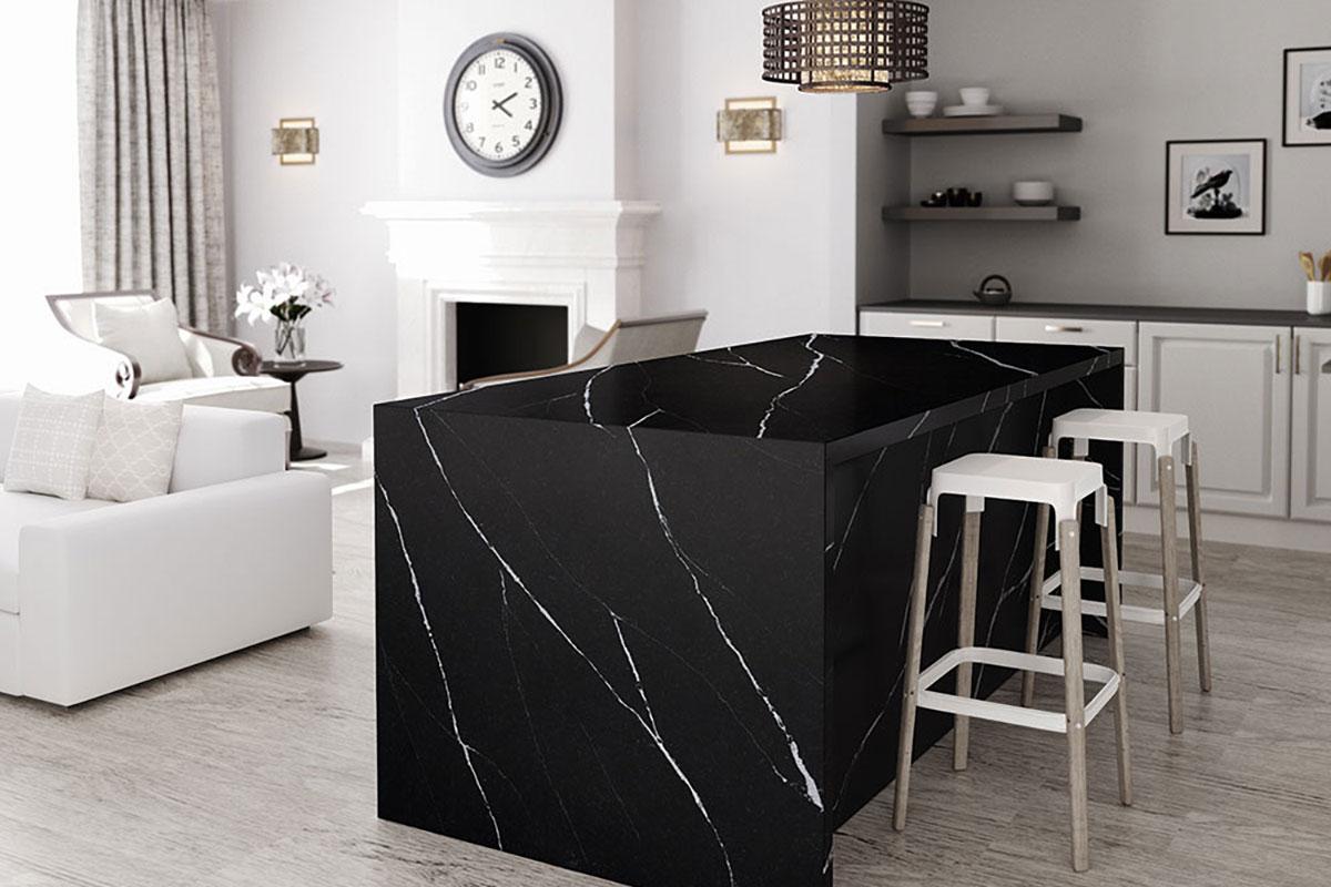 Silestone Eternal Marquina Kitchen