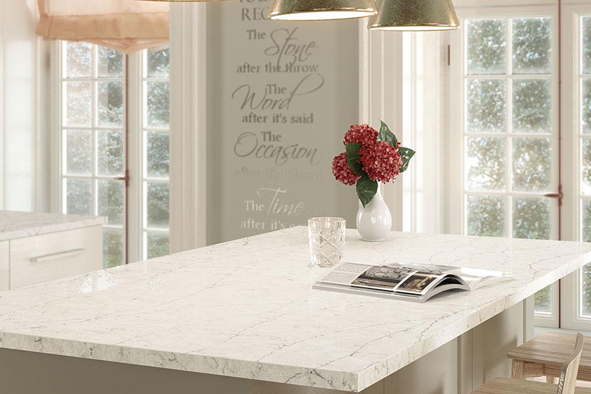 Silestone Eternal Pearl Jasmine Kitchen