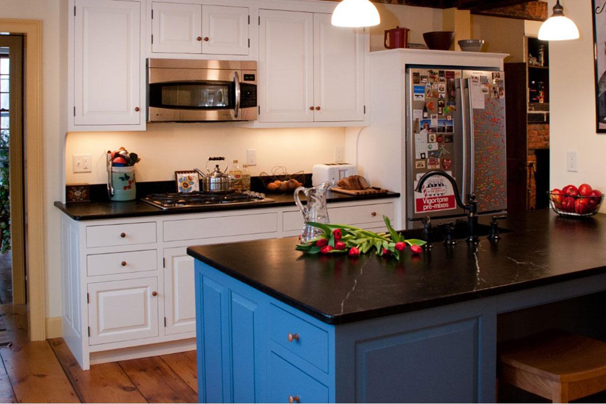 Soapstone in Vintage Kitchen