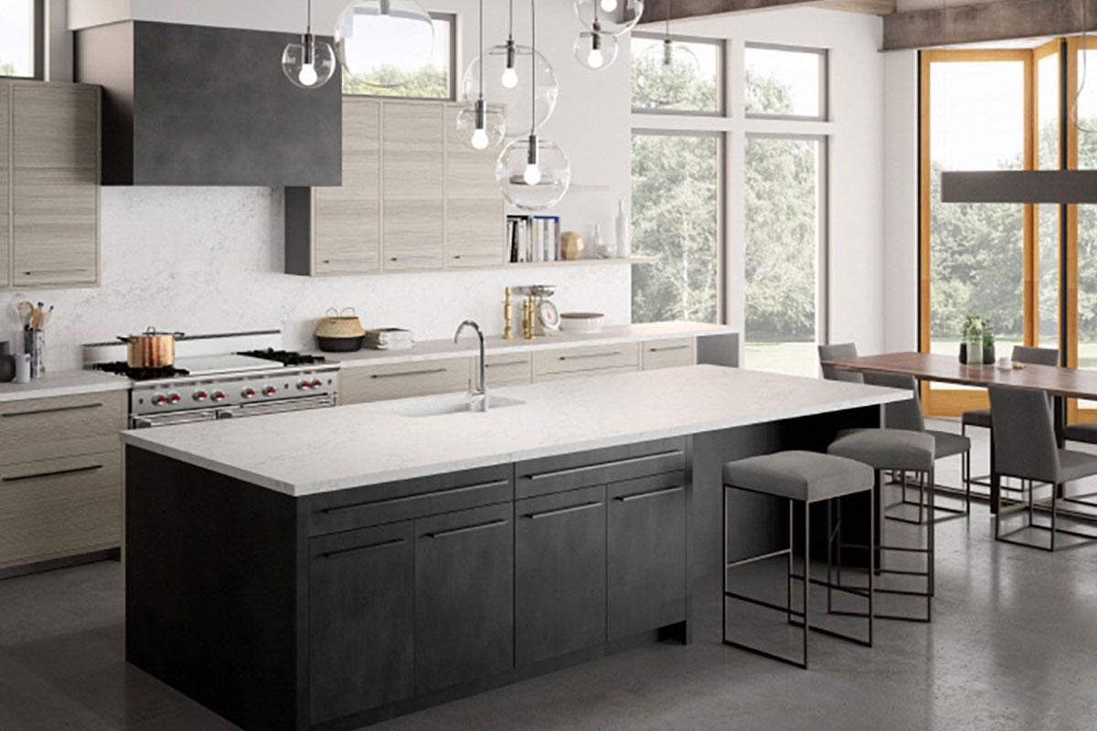 LG Viaterra Quartz in Kitchen