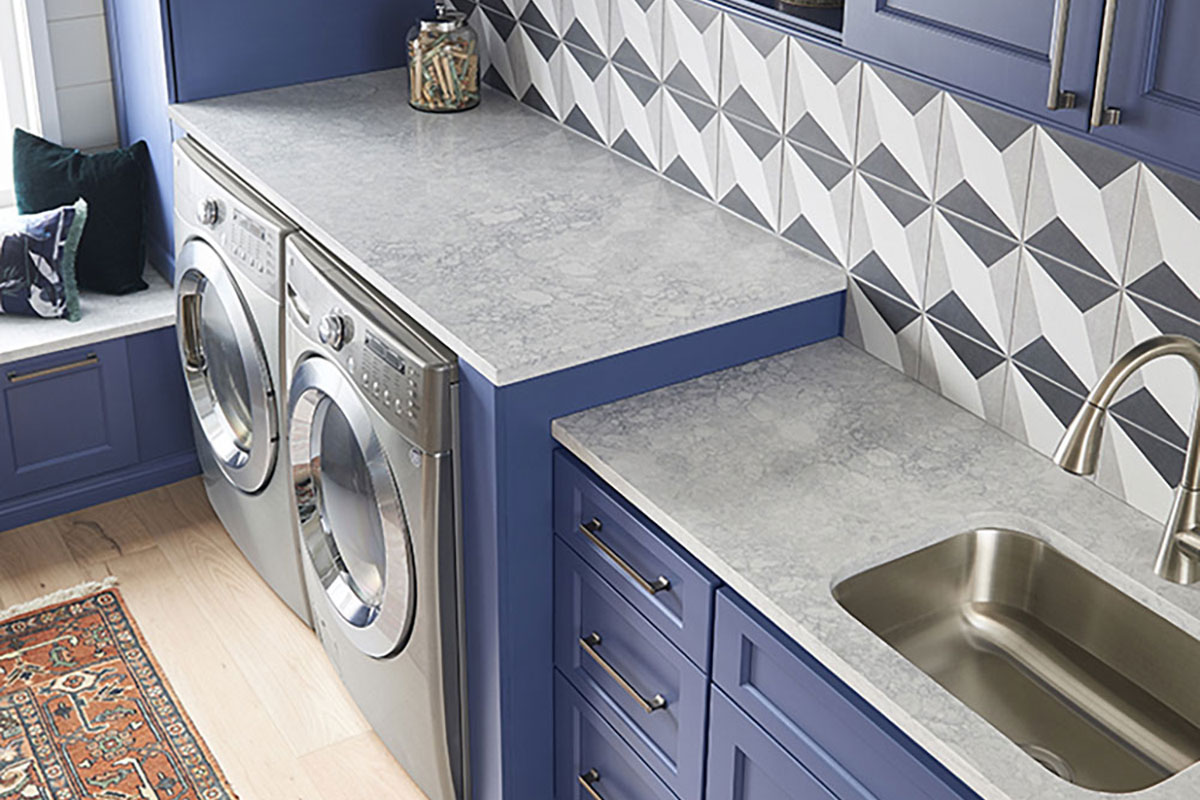 LG Viaterra Quartz Laundry Room